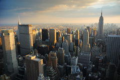 Horizon de New York City Image libre de droits