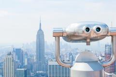 Horizon de New York City Images libres de droits