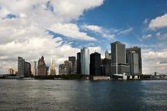 Horizon de New York City Images stock