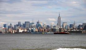 Horizon de New York City photos libres de droits
