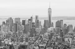 Horizon de New York City photographie stock