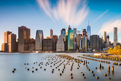 Horizon de New York City Photo stock