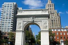 Horizon de New York City et état Buiiding d'empire Photos libres de droits