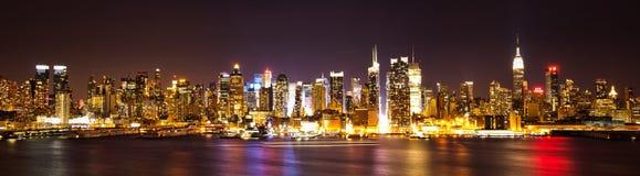 Horizon de New York NYC Images libres de droits