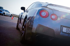 Horizon de Nissans GTR Photographie stock libre de droits