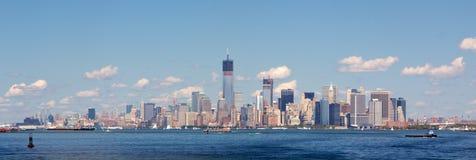 Horizon de NYC dans l'automne 2012 Image libre de droits