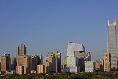 horizon de Pékin Images stock