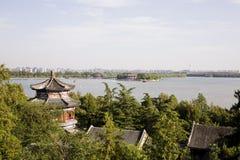 Horizon de Pékin photographie stock