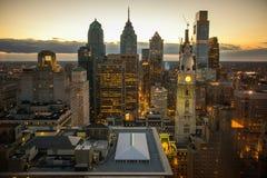 Horizon de PA de Philadelphie photographie stock libre de droits