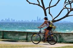 Horizon de paradis de surfers - Australie de la Gold Coast Queensland Photos libres de droits