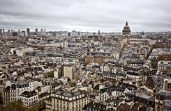 Horizon de Paris Image stock