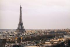 Horizon de Paris Images stock