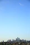Horizon de Philadelphie Photographie stock libre de droits