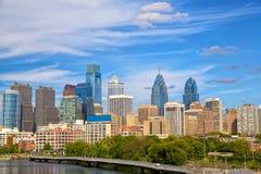 horizon de Philadelphie Photos stock
