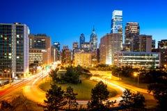 horizon de Philadelphie Images stock