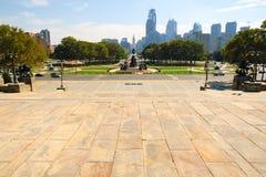 horizon de Philadelphie Images libres de droits
