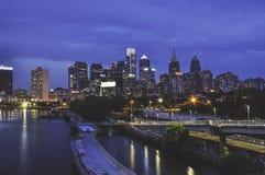 horizon de Philadelphie Photo libre de droits