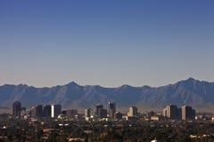 Horizon de Phoenix, Arizona Images libres de droits