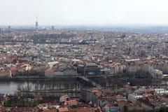 Horizon de Prague Images stock