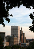 Horizon de Providence Photos stock