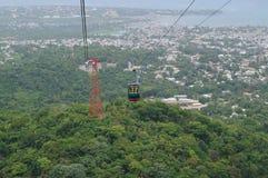Horizon de Puerto Plata ! Photo stock