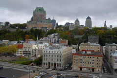 Horizon de Quebec City photo libre de droits