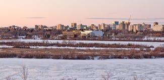 Horizon de Regina Image libre de droits