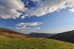 Horizon de ressort Image libre de droits