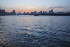 Horizon de rivière Photos libres de droits