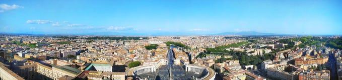 Horizon de Rome, Vatican, Italie photos libres de droits