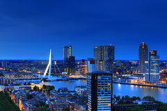 Horizon de Rotterdam photo stock