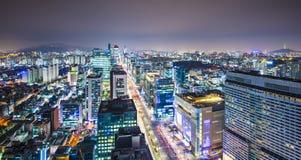 Horizon de Séoul images stock