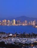 Horizon de San Diego Images libres de droits