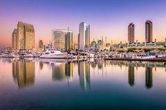 Horizon de San Diego, la Californie, Etats-Unis photographie stock