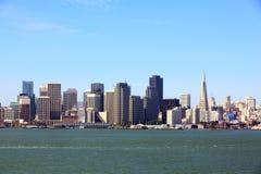 Horizon de San Francisco images libres de droits