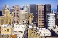 Horizon de San Francisco Photo libre de droits