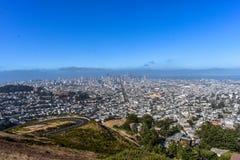 Horizon de San Francisco City Photographie stock