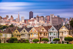 Horizon de San Francisco, la Californie photographie stock