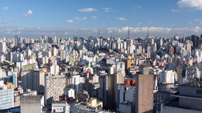 Horizon de Sao Paulo Photos stock