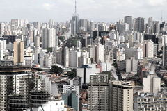 Horizon de Sao Paulo Photo stock
