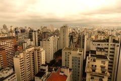 Horizon de Sao Paulo Photos libres de droits