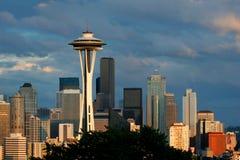 Horizon de Seattle Image libre de droits