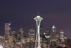 Horizon de Seattle Photos libres de droits