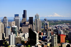 Horizon de Seattle Image stock