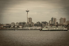Horizon de Seattle Images stock