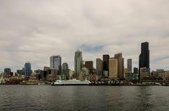 Horizon de Seattle Images libres de droits