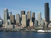 Horizon de Seattle, Washington Photographie stock libre de droits