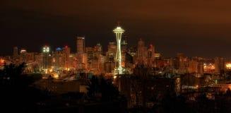 Horizon de Seattle, Washington Image libre de droits