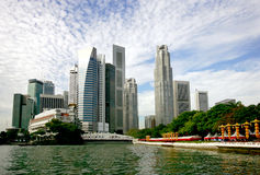 Horizon de Singapour Images stock