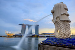 Horizon de Singapour Images stock